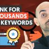 How to Rank for Thousands of Keywords Without Building Links