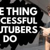 One Simple Thing Big YouTubers Do to Grow (That Most of Us Don't)