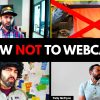 16 Things to STOP Doing on a Webcam (Video Conferencing Etiquette) - Remote Work at Home Tips