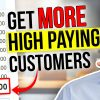 How to find HIGH PAYING customers for your Business...top MARKETING strategy!