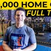 My private HOME GYM and wrestling room | My best investment