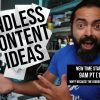 Never Run Out of Content Ideas Again - Day #168 of The Income Stream