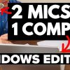 How to Record 2 USB Mics at the Same Time on PC / WINDOWS